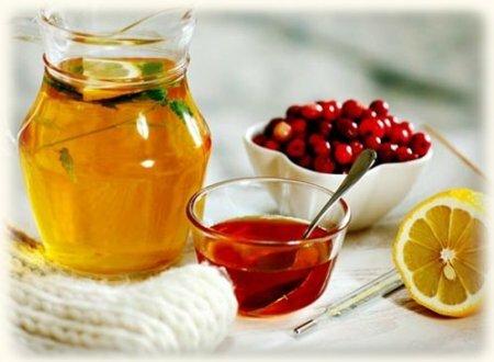 Мёд, лимон, клюква